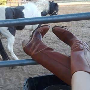 Frye vintage leather boots